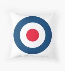 RAF MOD Roundel Logo Throw Pillow