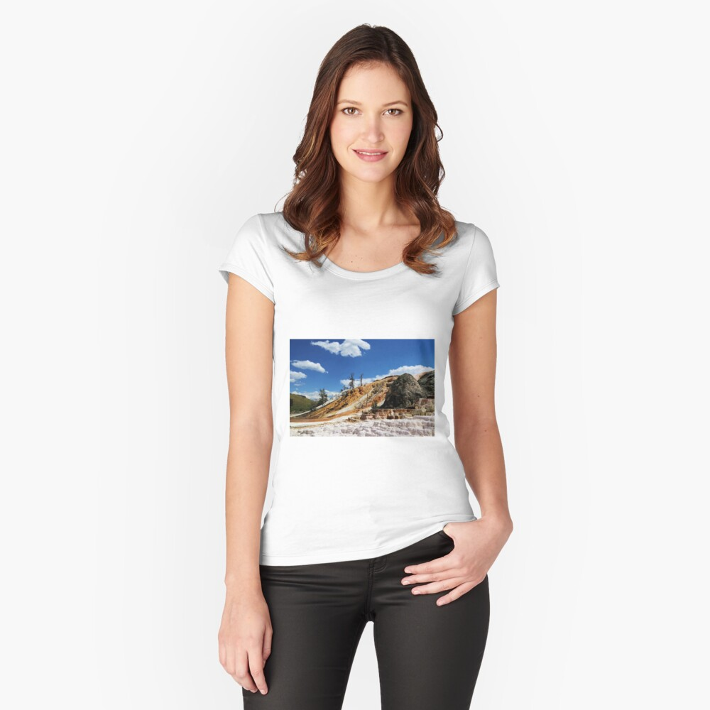 Summer and Winter is coming Women's Fitted Scoop T-Shirt Front