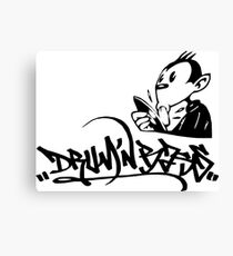 drum n bass monkey Canvas Print