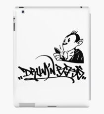 drum n bass monkey iPad Case/Skin