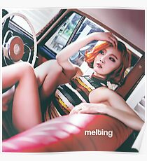 HWASA - MELTING ERA  Poster