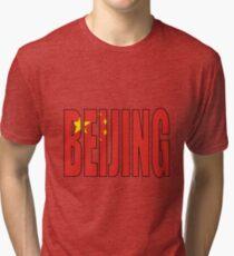 Beijing. Tri-blend T-Shirt
