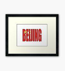 Beijing. Framed Print