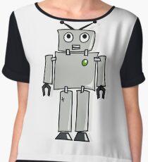 Joe the  Robot Women's Chiffon Top