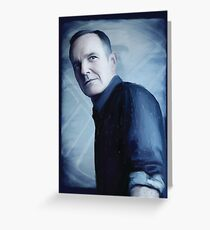 Agent Phillip Coulson Greeting Card