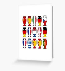 European Champions Greeting Card