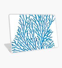 Coral Azul Laptop Skin