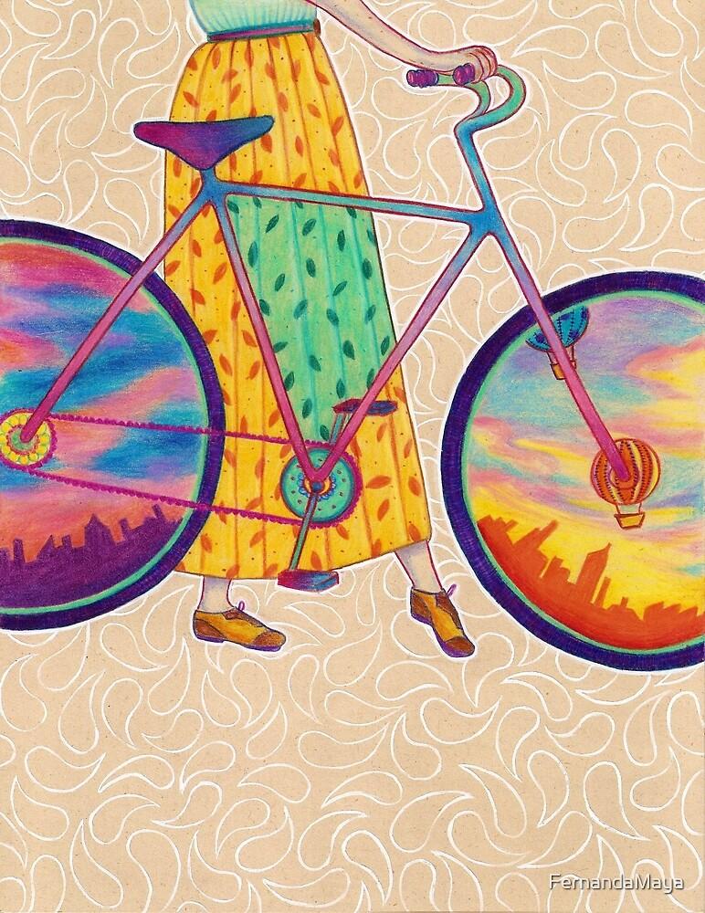 Bike tour by FernandaMaya