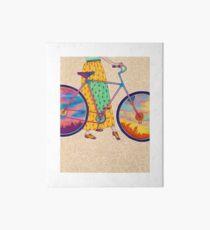 Lámina de exposición Tour en bicicleta