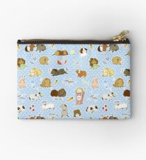 Guinea Pig Party! - Cavy Cuddles and Rodent Romance Zipper Pouch
