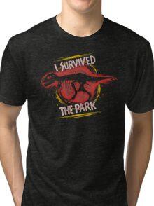 I survived the park Tri-blend T-Shirt
