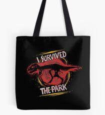 I survived the park Tote Bag