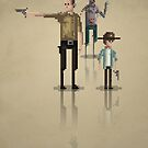 8-Bit TV Walking Dead by capdeville13