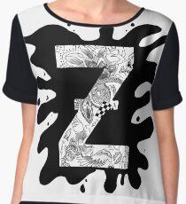 Zap Zed Chiffon Top