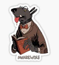 awarewolf Sticker