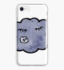cartoon rain cloud iPhone Case/Skin