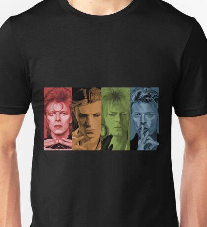 """""""Four Faces"""" Unisex T-Shirt"""