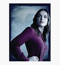Agent Jemma Simmons Photographic Print