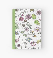 Hand Drawn: Flowers and Foliage Hardcover Journal