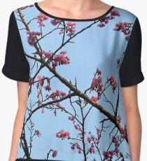 Cherry Blossoms  Women's Chiffon Top