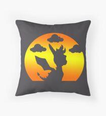 Sunset Spyro Throw Pillow