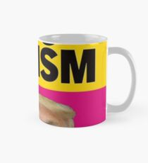 no to racism no to trump Mug
