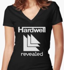 hardwell Women's Fitted V-Neck T-Shirt