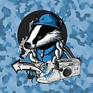 B-Boy Badger by capdeville13