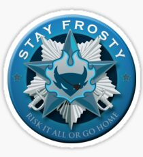 Stay Frosty Sticker Sticker