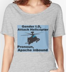 I Sexually Identify As An Attack Helicopter Women's Relaxed Fit T-Shirt
