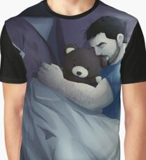 lonely with bear FullCG Graphic T-Shirt