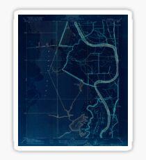 USGS TOPO Map California CA Babel Slough 295916 1916 31680 geo Inverted Sticker