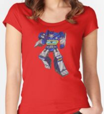 Soundwave Transformers Women's Fitted Scoop T-Shirt