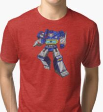 Soundwave Transformers Tri-blend T-Shirt