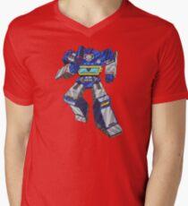 Soundwave Transformers Men's V-Neck T-Shirt