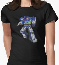 Soundwave Transformers Womens Fitted T-Shirt
