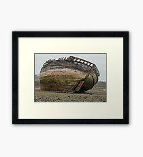 Boat Wreck Dulas Bay  Framed Print