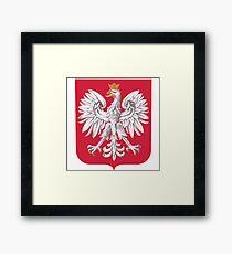 Poland Coat of Arms Framed Print