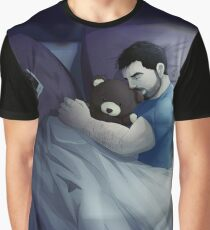 lonely with bear Graphic T-Shirt