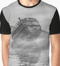 Abandoned in Monochrome  Graphic T-Shirt