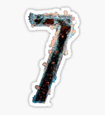 7 - II Sticker