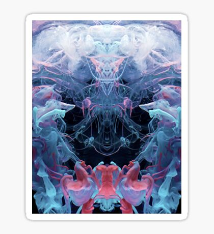 Alien Emperor Sticker