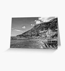 Mediterranean Escape Greeting Card