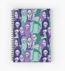 Ghoul Stripes Spiral Notebook