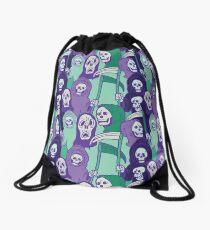 Ghoul Stripes Drawstring Bag