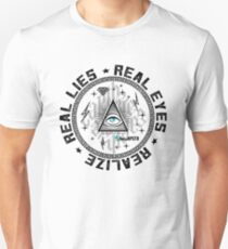 Real Eyes illuminati Unisex T-Shirt