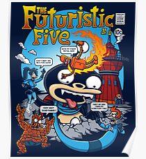 The Futuristic Five Poster
