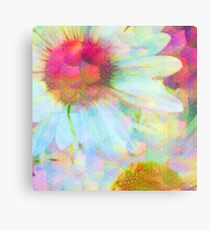 Blooms Through The Looking Glass Metal Print