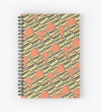 Skeeter Hotdog Spiral Notebook