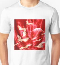 Silky Red Mountain T-Shirt